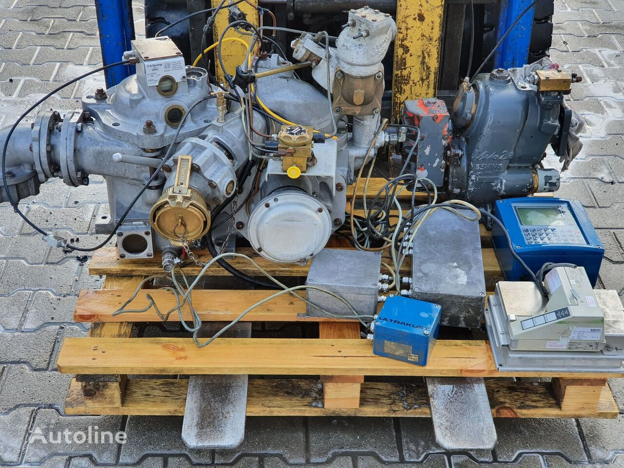 其他储罐拖车 的 备件 Bartec Ultrakust Sening Gmvz 1003 Sening Beta 2 Pump