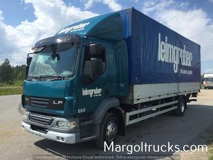带防水布卡车 DAF LF 55 250 plandeka + winda Sprowadzony ze Szwajcarii