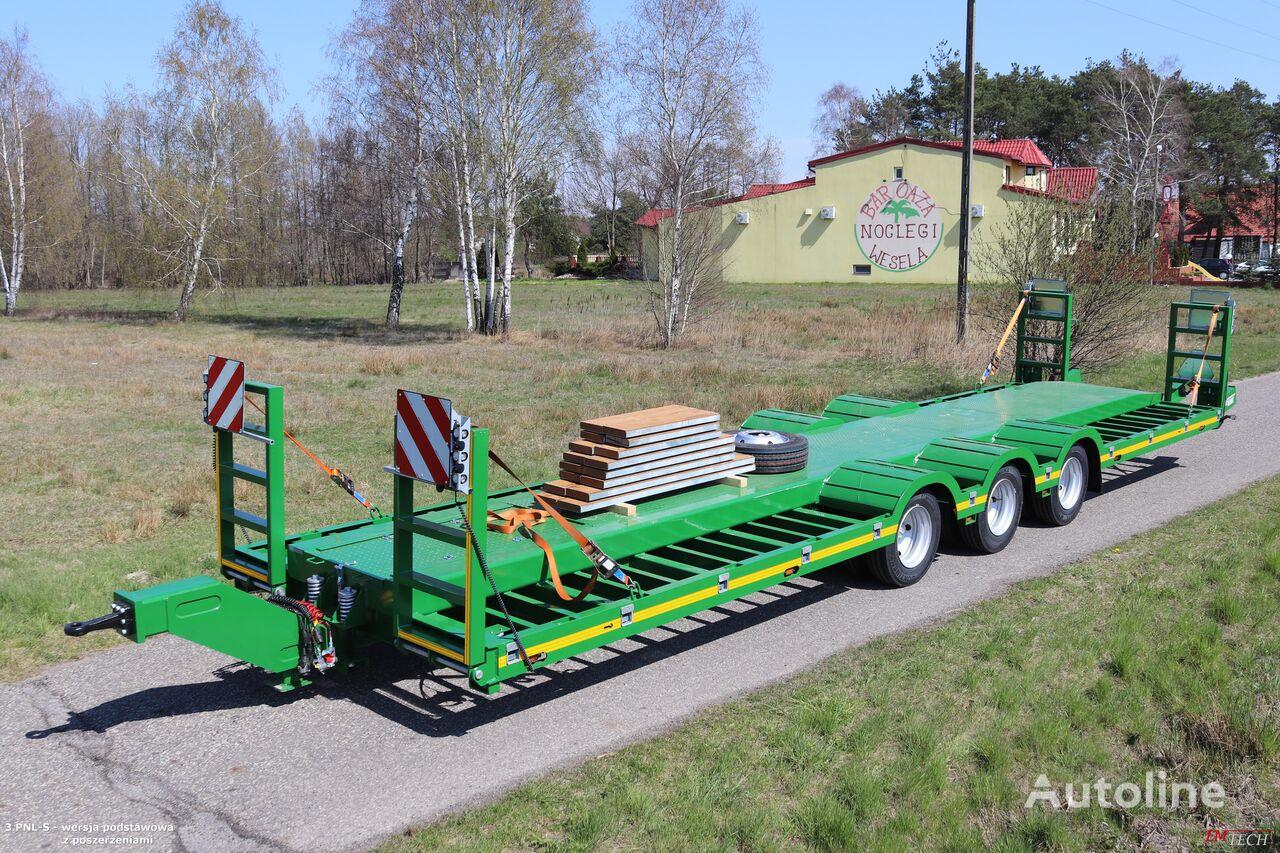 新低车架拖车 EMTECH SERIA PNL model 3.PNL-S - Przyczepa do maszyn leśnych