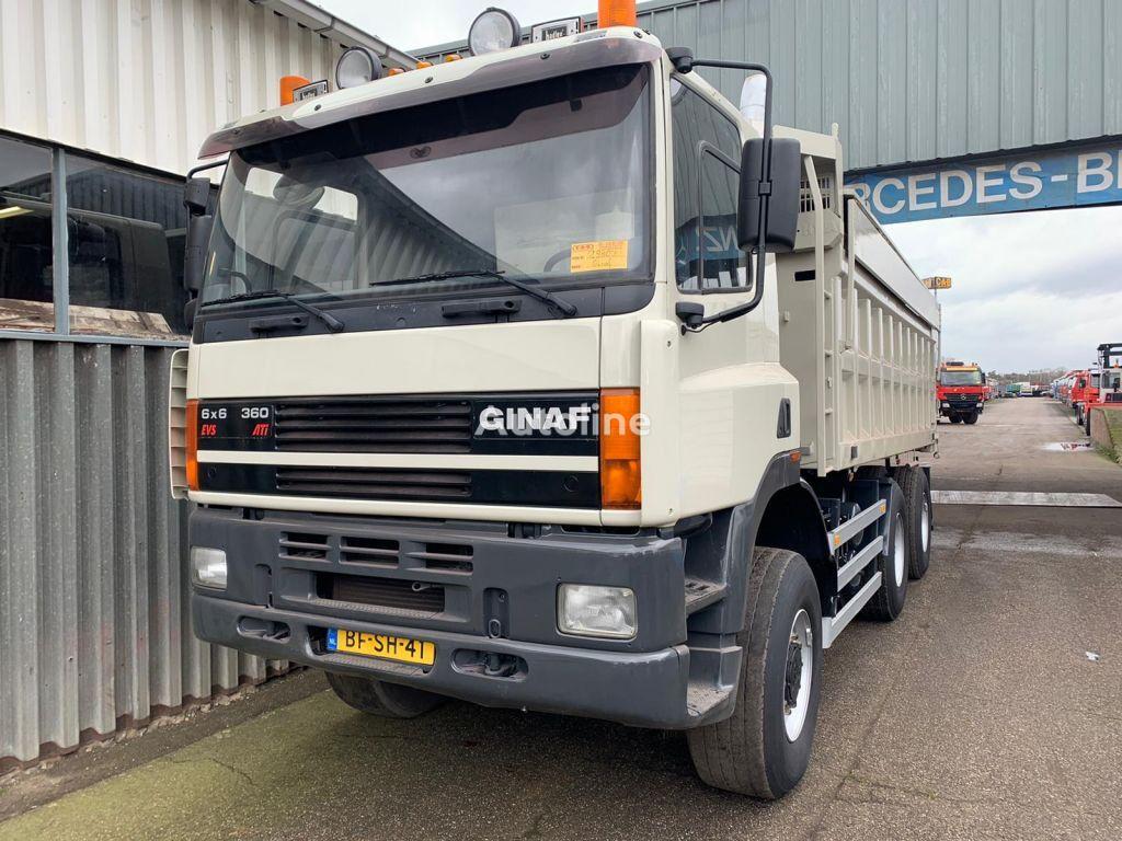 自卸车 GINAF M 3335-S / 6x6