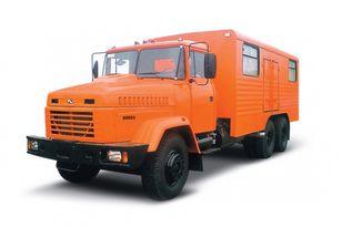 新军用卡车 KRAZ 65053 мастерская