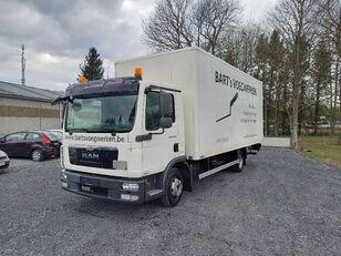 箱式卡车 MAN TGL 8.180 taillift/hayon - euro 5 - very good tyres