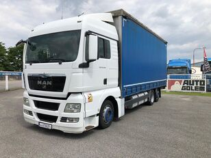 带防水布卡车 MAN TGX 24.440 flatbed