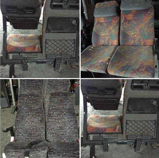 公共汽车 MERCEDES-BENZ 0350 的 座椅