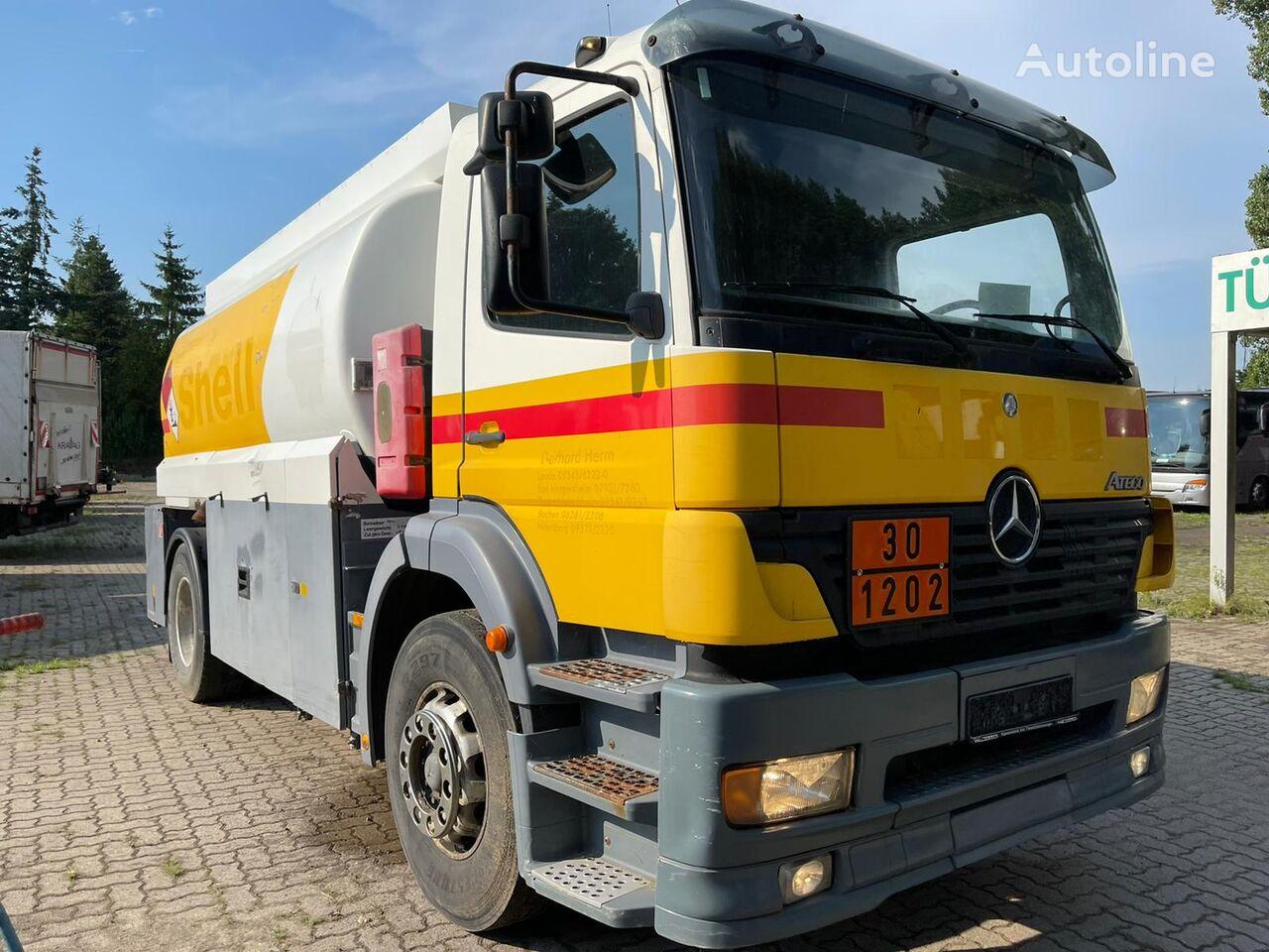 油罐车 MERCEDES-BENZ 1828 L Atego Tankwagen 14.000LTr mit 2 Kammern