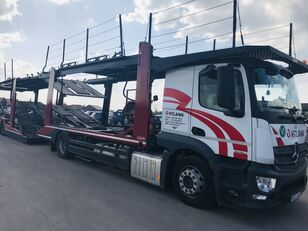 小汽车运输车 MERCEDES-BENZ Actros 1840 Euro 6 + Lohr CHR + 小汽车运输拖车