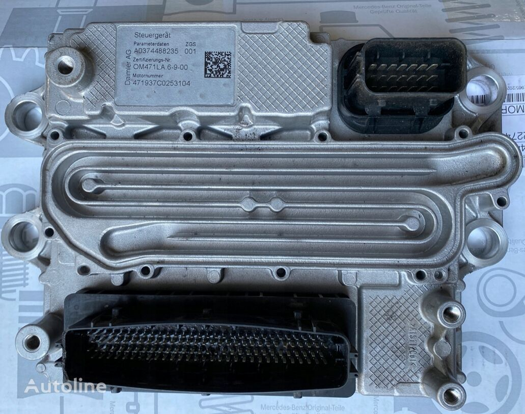 卡车 MERCEDES-BENZ Actros Mp4 的 控制单元 MERCEDES-BENZ MCM2.1 OM471 (897654569)