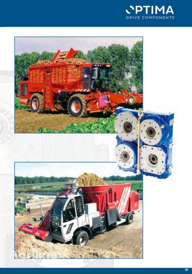 新联合收割机 的 液压泵 OPTIMA Twin Disc type Pump Drives