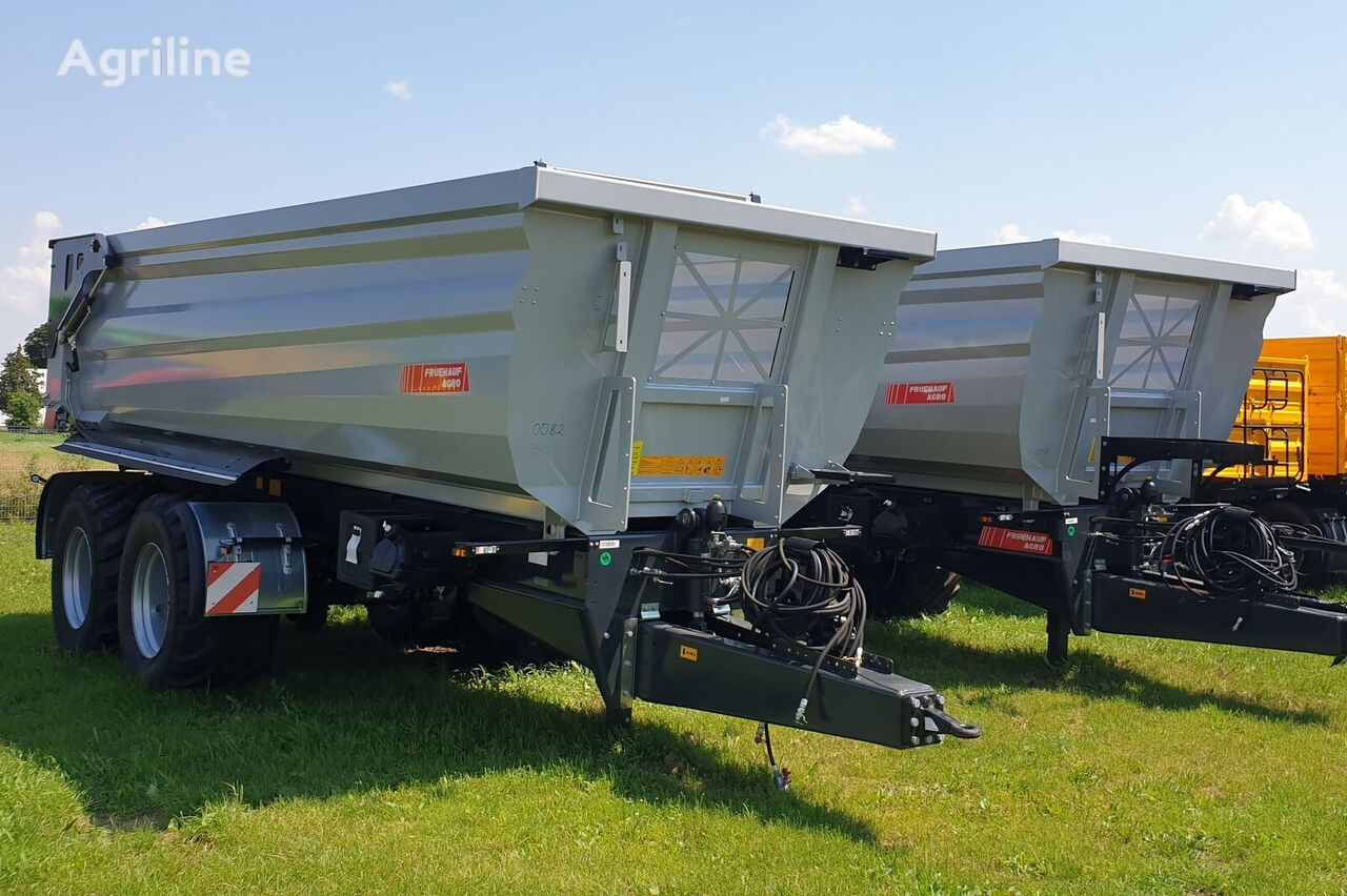 新拖拉机拖车 Przyczepa rolnicza skorupowa Fruehauf wielton AGRO W18R -18T