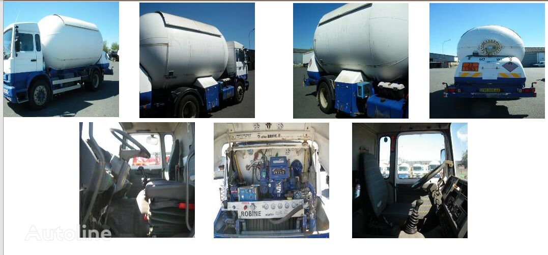 燃气运输车 RENAULT Midlum 210 LPG 17000 liters