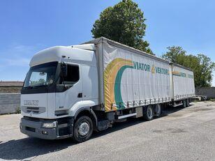 侧帘货车 RENAULT Premium 420 + 带侧帘拖车