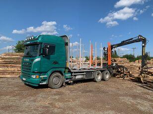 木材运输车 SCANIA G480 KRAN KESLA 2009SI