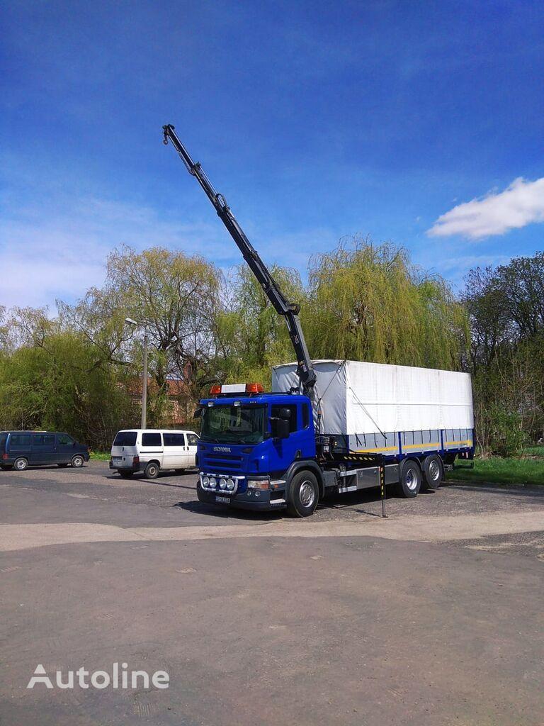 平板卡车 SCANIA P310 6x2