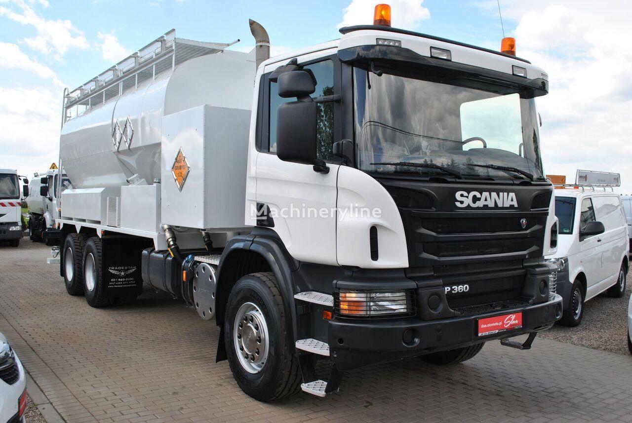 油罐车 SCANIA P360 Mobile Explosive Manufacturing Unit Heavy Anfo MPU