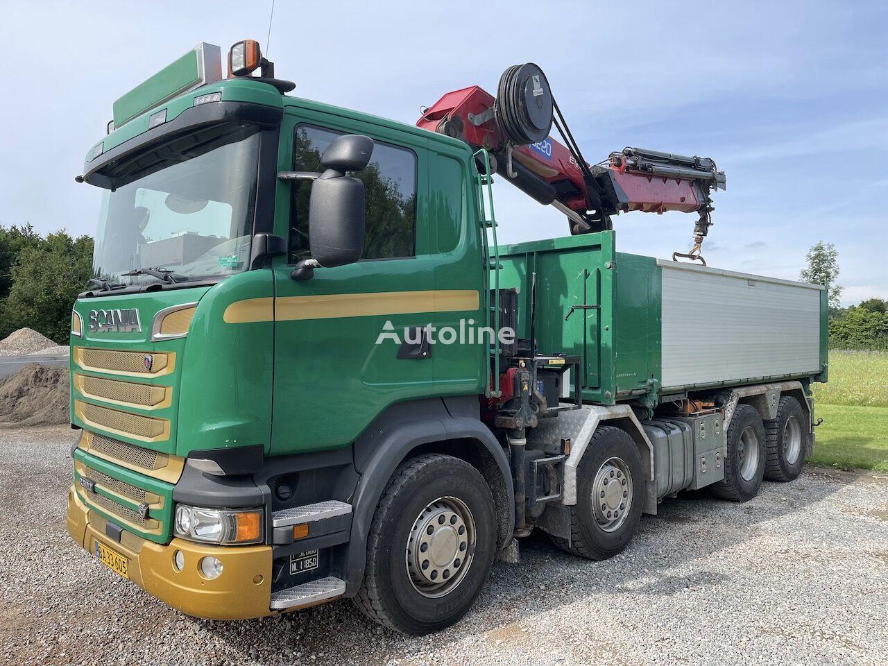 平板卡车 SCANIA R520