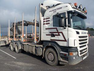 木材运输车 SCANIA R560