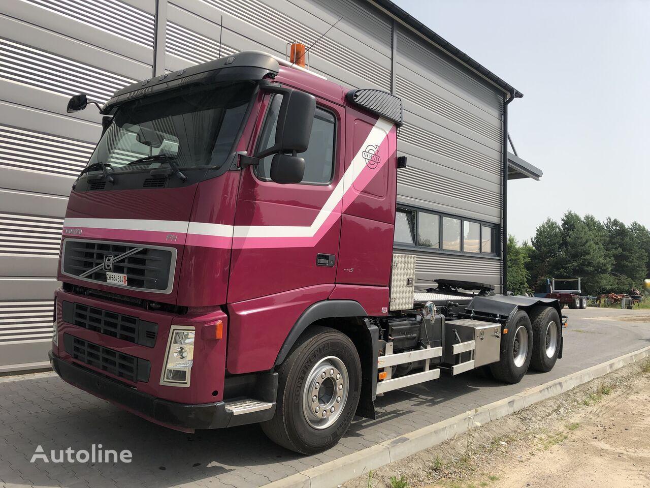 底盘卡车 VOLVO FH 13 480KM 6x4 Euro 5 Sprowadzony ze Szwajcarii