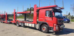 小汽车运输车 VOLVO FM 400 + 小汽车运输拖车