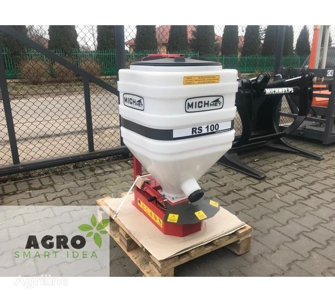 新mounted fertilizer spreader Michmet Zwischenfruchtstreuer / Streugerät / Rozsiewacz poplonów