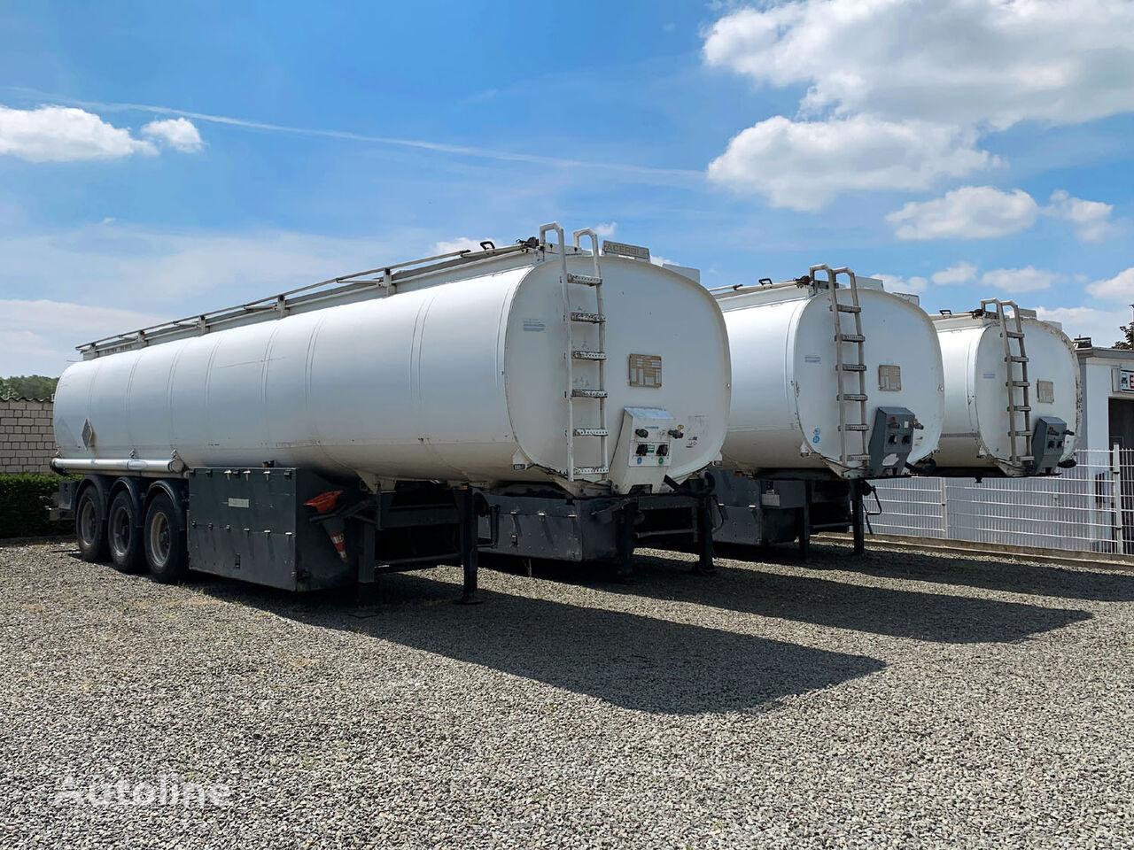 燃油箱拖车 ACERBI fuel/benzin/diesel 42170 Ltr. 5x Kammer, new ADR