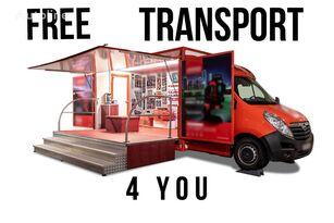 新售货车 < 3.5t BANNERT EVENT, SZKOLENIA TARGI !!!FREE TRANSPORT 4 YOU!!!
