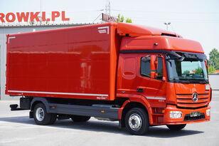 箱式卡车 MERCEDES-BENZ Atego 1224, E6, 4x2, 6.10m container, GLOB cabin, retarder