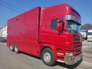 箱式卡车 SCANIA 144 G  460  V8   6x2  ///MANUEL//RETARDER///FRENCH TRUCK///