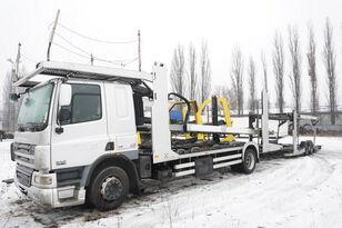 小汽车运输车 DAF CF 75 360 , E5 , 4x2 ,MEGA , LOHR , retarder , sleep cab + 小汽车运输拖车