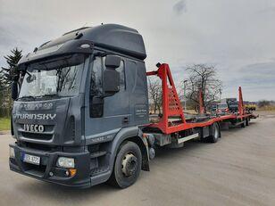 小汽车运输车 IVECO Eurocargo 140E28 + 小汽车运输拖车