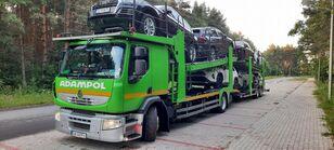 小汽车运输车 RENAULT Premium 410 + 小汽车运输拖车