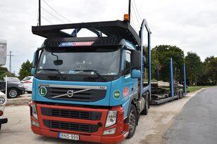 小汽车运输车 VOLVO FM 460 + LOHR 1.22 + 小汽车运输拖车