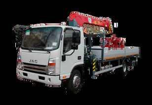 新平板卡车 JAC Бортовой автомобиль с КМУ FG-414