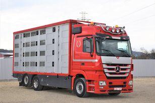 牲畜运输车 MERCEDES-BENZ ACTROS 2548 TIERTRANSPORTWAGEN 7,40m / 3STOCK