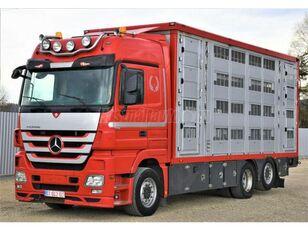 牲畜运输车 MERCEDES-BENZ Actros 2548 6x2 Élőállat-szállító