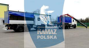 新军用卡车 KAMAZ 6x6 SERWISOWO-WARSZTATOWY