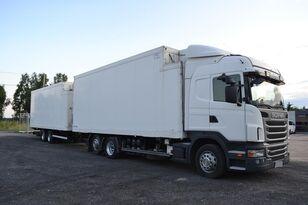 冷藏车 SCANIA G400 RETARDER + TRAILER 2010 DOPPEL STOCK + 拖车