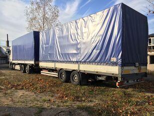 带防水布卡车 DAF XF95.430 + 带防水布拖车