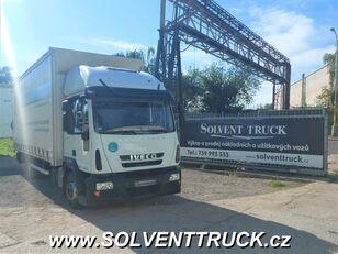 带防水布卡车 IVECO Eurocargo 120E25,EEV, shrnovačka + čelo