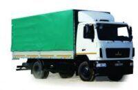 新带防水布卡车 MAZ 534026