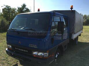 带防水布卡车 MITSUBISHI CANTER DOKA P+P 4m-es platóval