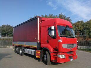 带防水布卡车 RENAULT PREMIUM 450.260 6X2 EURO 5, TELONATO 7 METRI + GANCIO TRAINO